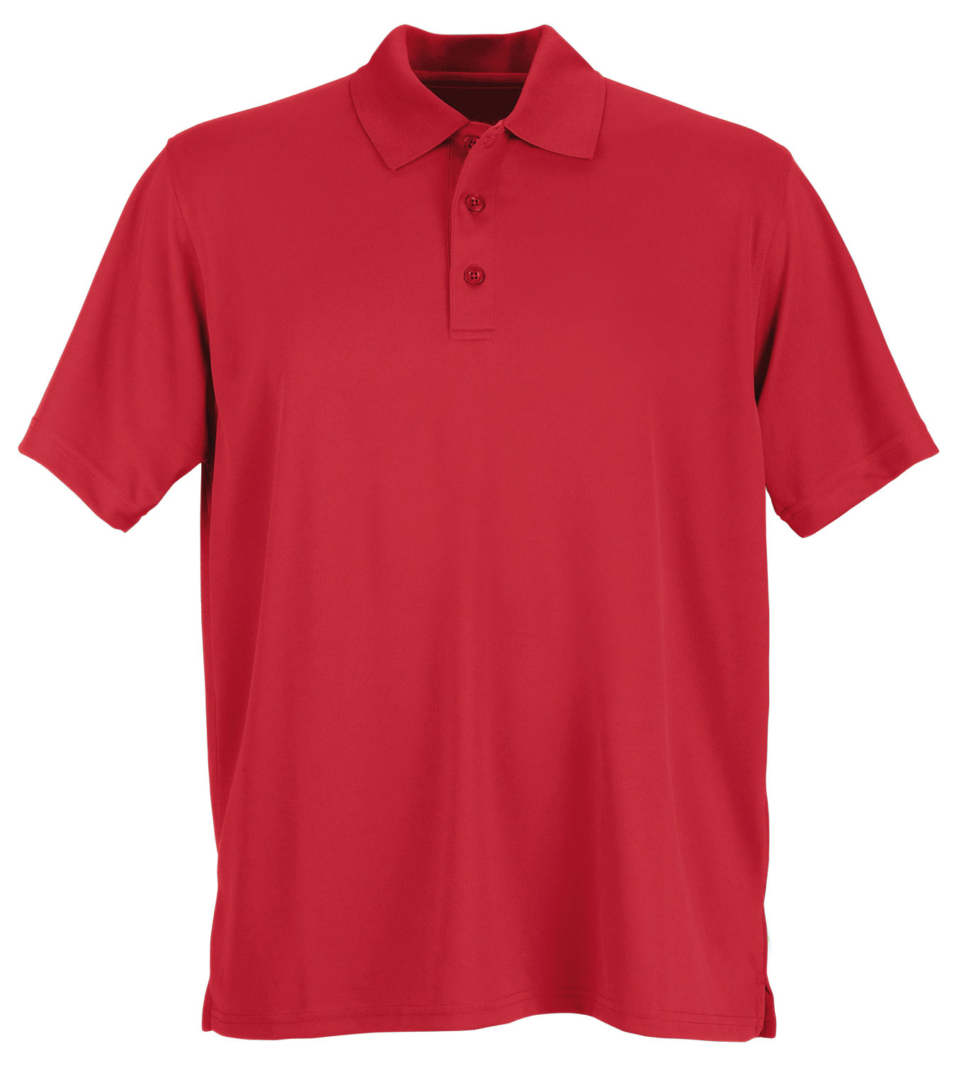 Vansport™ Omega Mens Solid Mesh Tech Polo