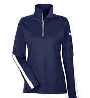 Custom Ladies Under Armour Qualifier 1/4 Zip