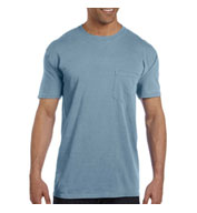 Custom Garment-Dyed Mens Pocket T-Shirt from Comfort Colors
