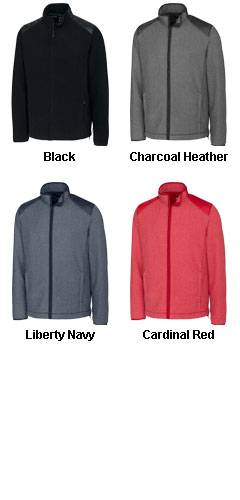 Cutter & Buck Mens Cedar Park Full-Zip Fleece Jacket - All Colors