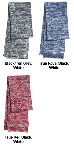 Marled Acrylic Scarf - All Colors