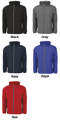 Adult Pack-N-Go Full Zip Reflective Jacket - All Colors