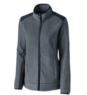 Custom Cutter & Buck Ladies Cedar Park Fleece Jacket