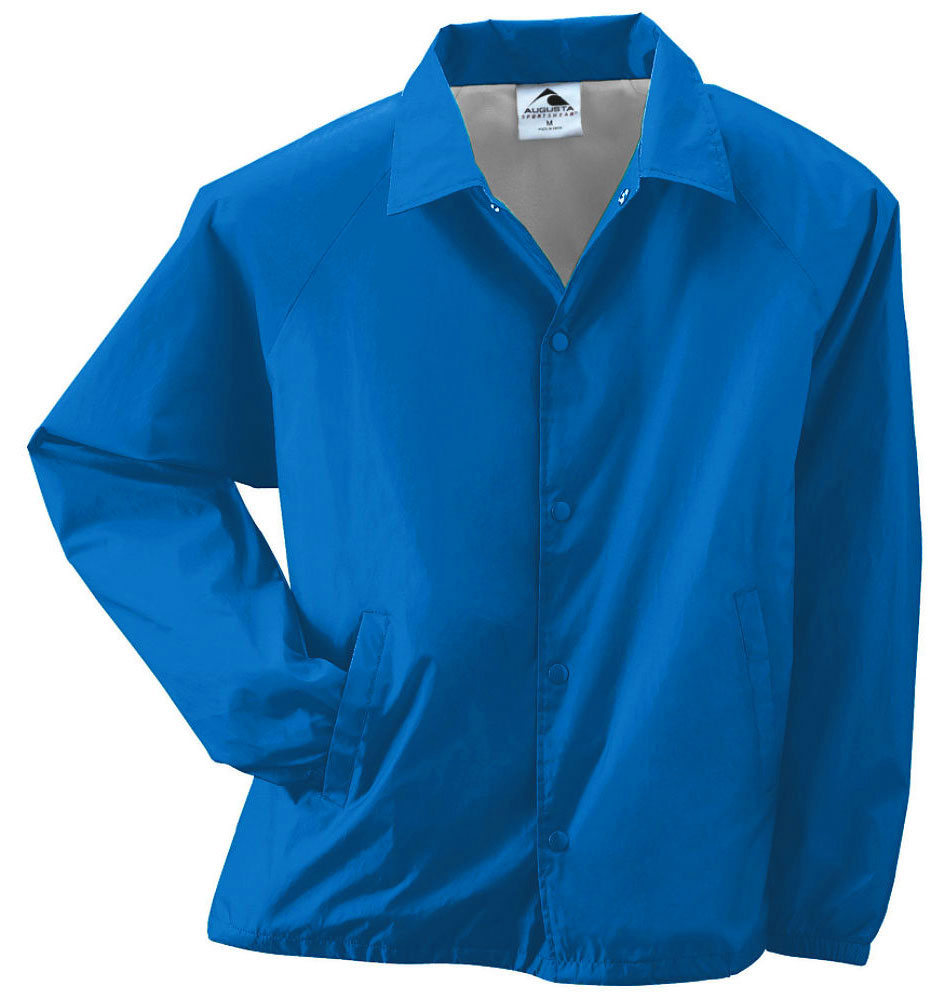 Adult Lined Nylon Coaches Jacket