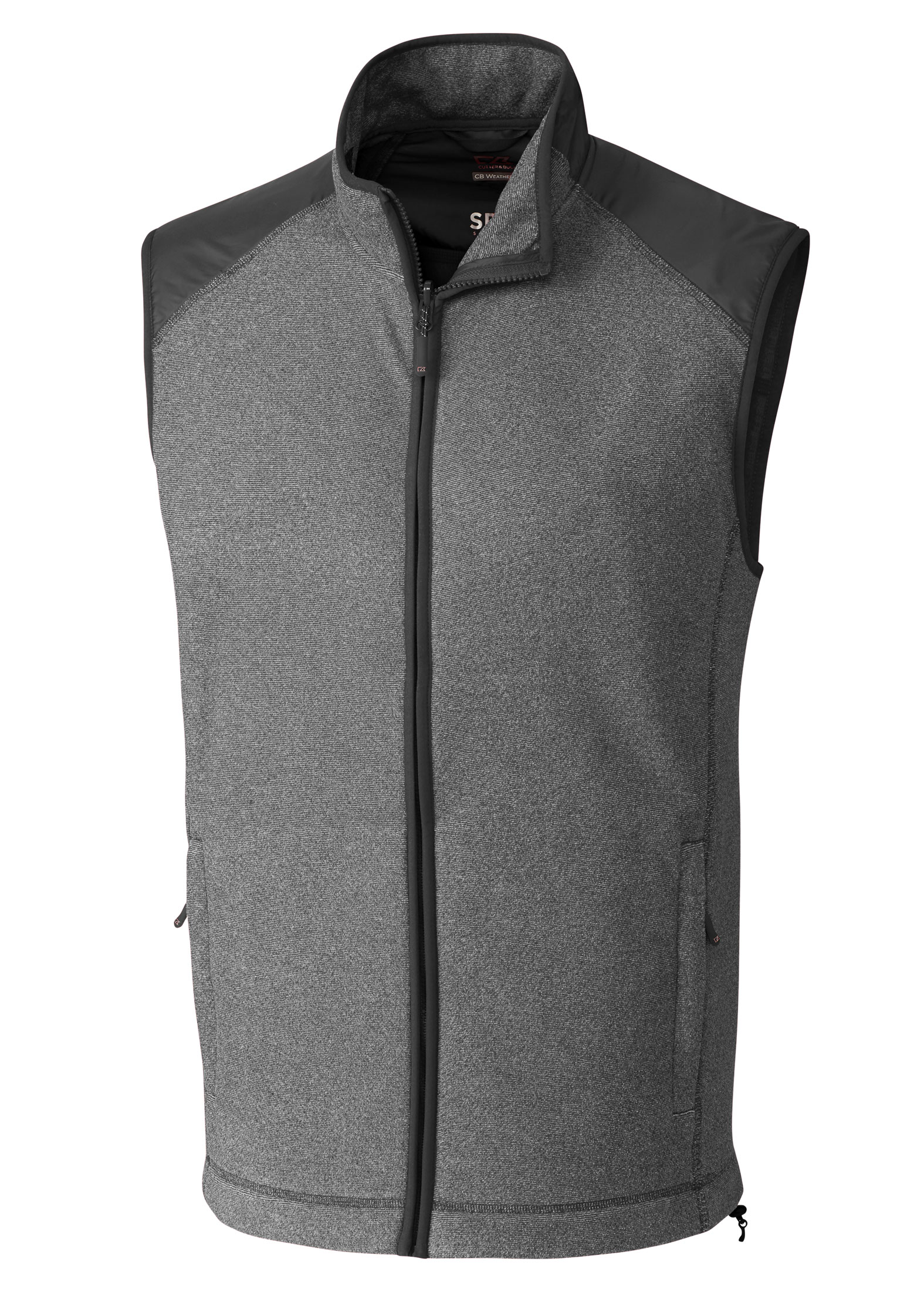 Cutter & Buck Mens Cedar Park Full Zip Fleece Vest