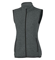 Custom Charles River Womens Pacific Heathered Vest
