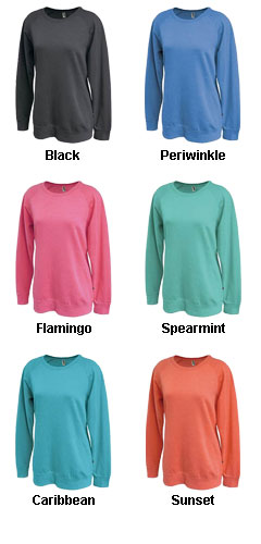 Sahara Fleece Womens Crewneck - All Colors
