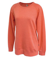 Custom Sahara Fleece Womens Crewneck