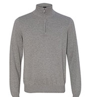 Custom Van Heusen 1/4-Zip Mens Sweater