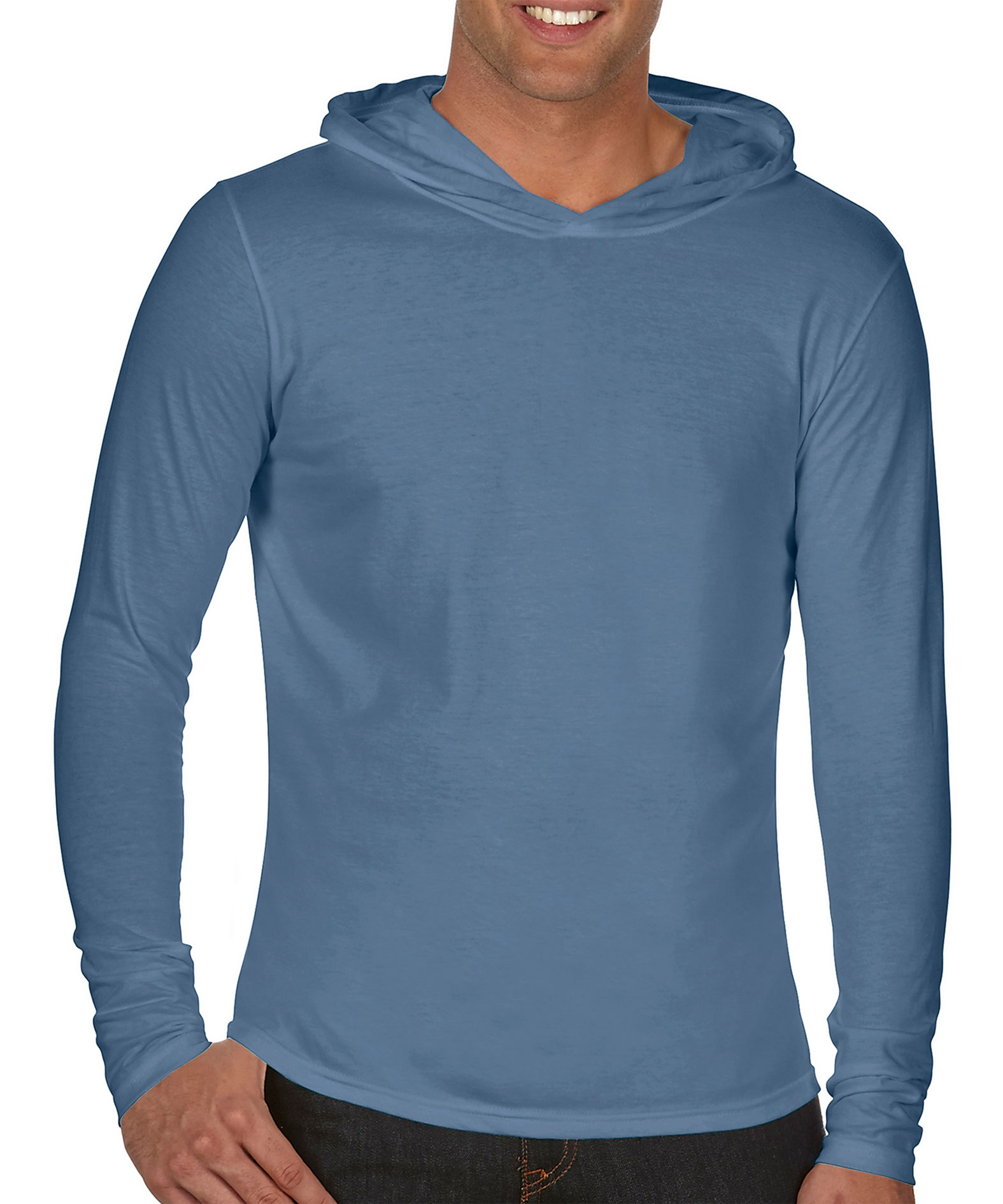 Comfort Colors Adult Long-Sleeve Hooded T-Shirt