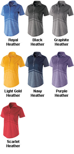 Ladies Seismic Polo - All Colors