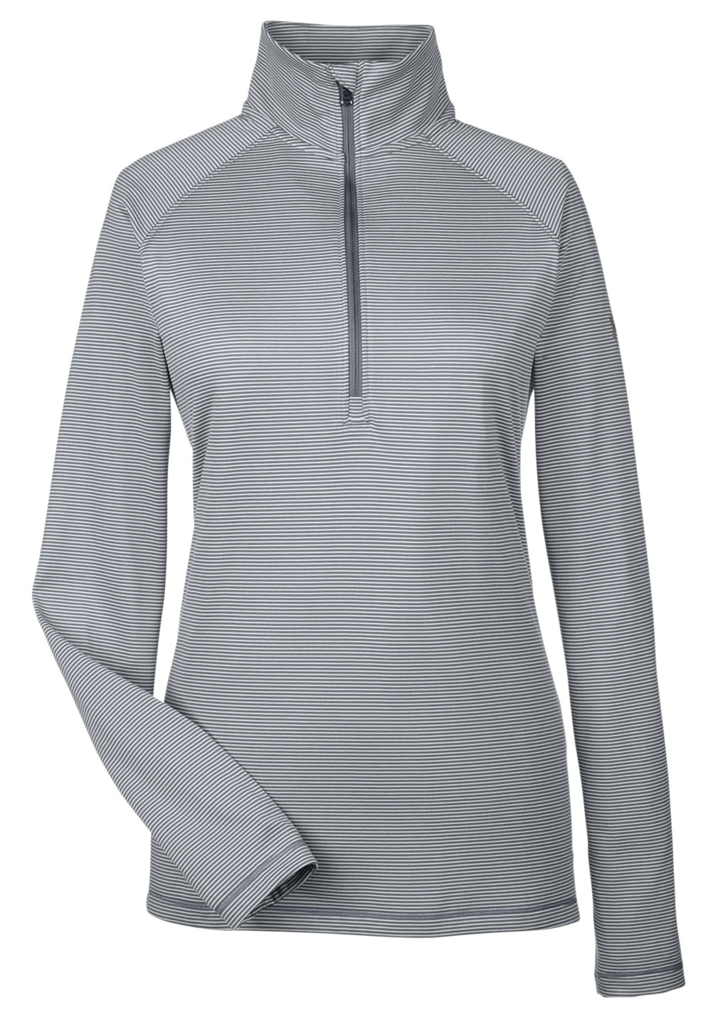 Under Armour Ladies Tech Stripe Quarter Zip