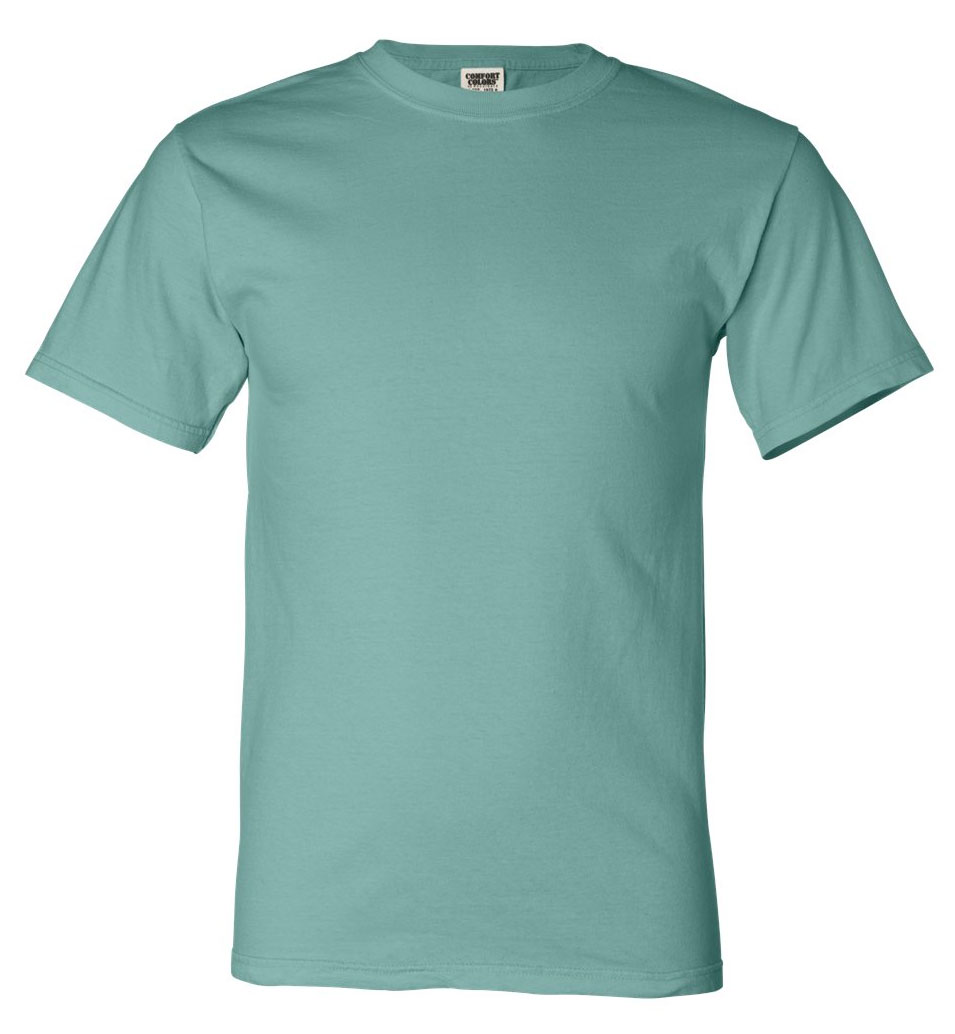 Ringspun T Shirt >> Design Comfort Colors Mens Ringspun T Shirt