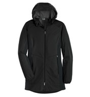Custom Port Authority® Ladies Active Hooded Soft Shell Jacket