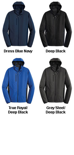 Adult Active Hooded Soft Shell Jacket - All Colors