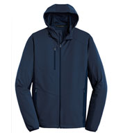 Custom Port Authority® Mens Active Hooded Soft Shell Jacket
