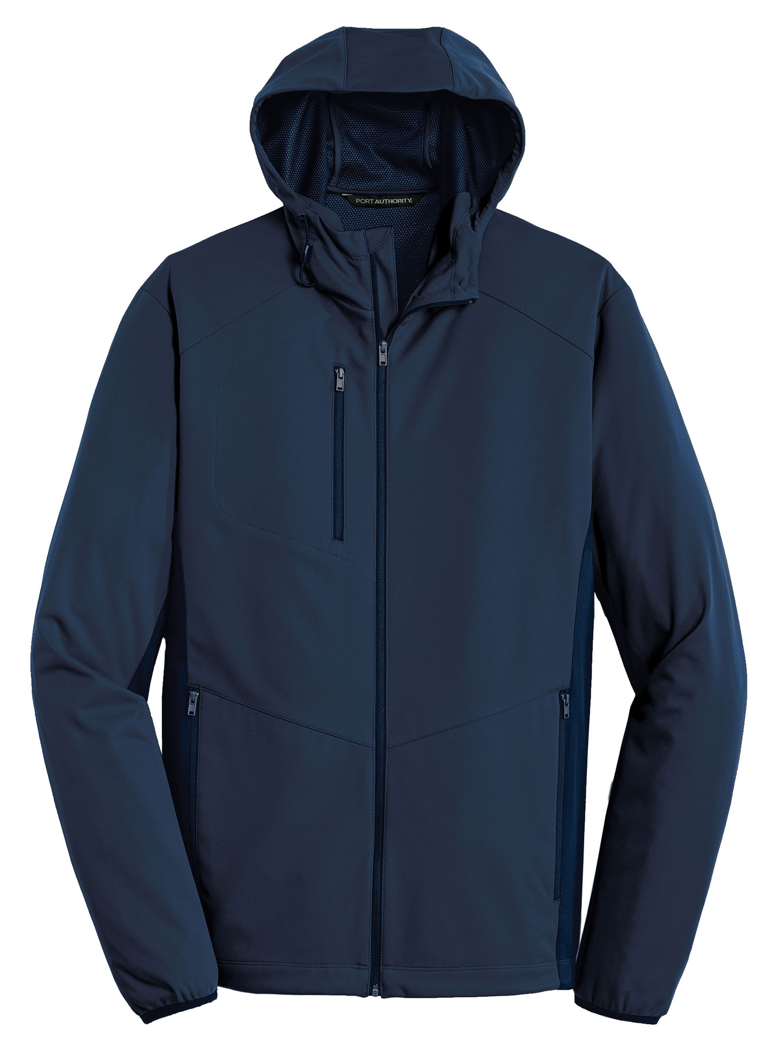 Port Authority® Mens Active Hooded Soft Shell Jacket