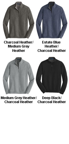 Mens Interlock 1/4-Zip - All Colors