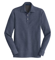 Custom Mens Interlock Polo Cover-Up