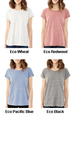 Alternative Womens Eco Nep Jersey Harbor T-Shirt - All Colors