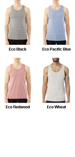 Alternative Mens Eco Nep Jersey Boathouse Tank - All Colors
