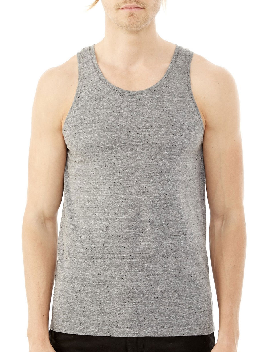 Alternative Mens Eco Nep Jersey Boathouse Tank