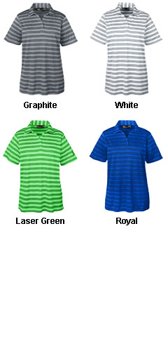 Ladies Under Armour Tech Stripe Polo - All Colors