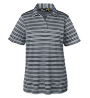 Custom Ladies Under Armour Tech Stripe Polo