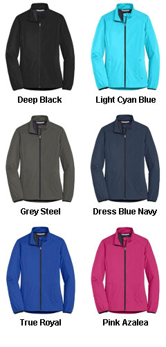 Port Authority Ladies Active Soft Shell Jacket - All Colors