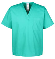 Custom Harriton Adult Restore 4.9 oz Scrub Top