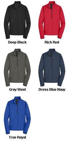 Port  Authority Mens Active 1/2-Zip Soft Shell Jacket - All Colors