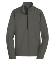 Port  Authority Mens Active 1/2-Zip Soft Shell Jacket