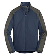 Port Authority Mens Active Colorblock Soft Shell Jacket