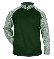 Custom Badger Mens Blend Sport Fleece 1/4 Zip