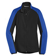 Custom Port Authority® Ladies Active Colorblock Soft Shell Jacket