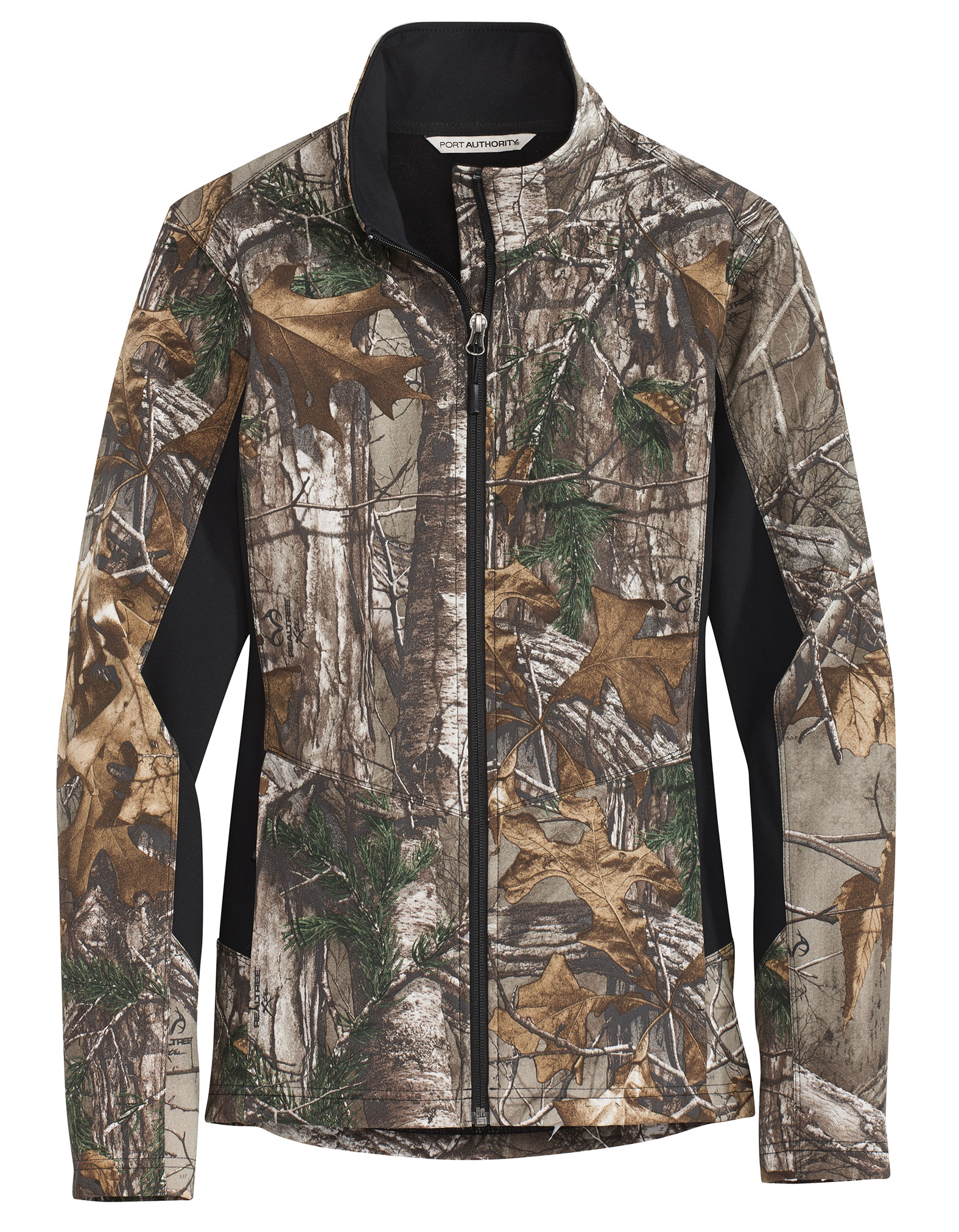 Port Authority® Ladies Camouflage Colorblock Soft Shell