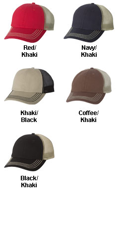 Washed Twill Trucker Cap - All Colors