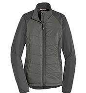 Custom Port Authority Ladies Hybrid Soft Shell Jacket