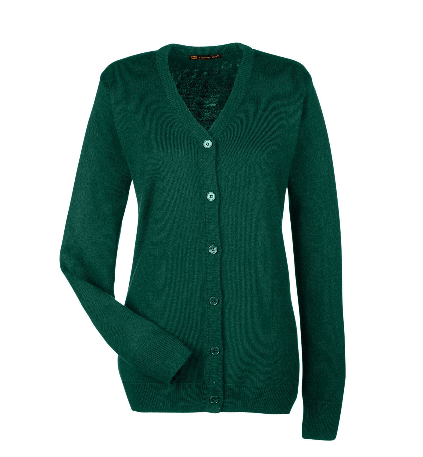 Harriton Ladies Pilbloc™ V-Neck Cardigan Sweater