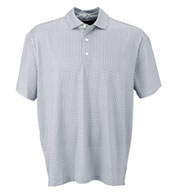 Custom Vansport™ Pro Mini-Gingham Mens Polo