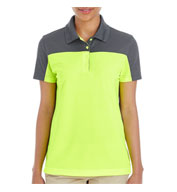 Custom Core 365 Ladies Balance Colorblock Performance Pique Polo
