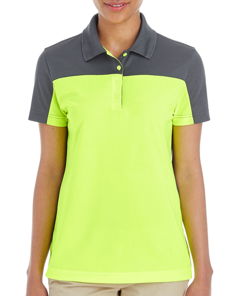 Core 365 Ladies Balance Colorblock Performance Pique Polo