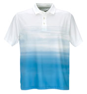 Custom Vansport™ Pro Ombre Print Mens Polo