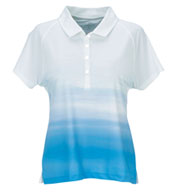 Custom Vansport™ Pro Ombre Womens Print Polo