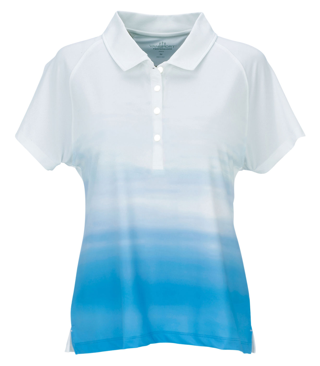 Vansport™ Pro Ombre Womens Print Polo