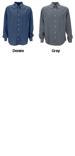 Mens Hudson Denim Shirt - All Colors