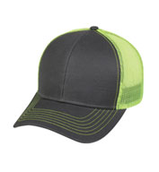 Custom Outdoor Cap Contrast Mesh Back Cap