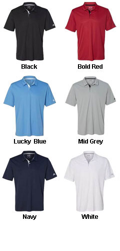 Adidas Golf Gradient 3-Stripes Sport Shirt - All Colors