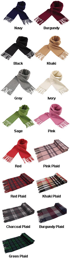 Cashmere Scarf - All Colors
