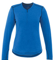Custom Trimark Womens Quadra Long Sleeve Top